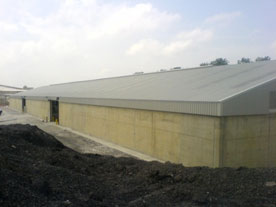 20,000sq ft Lime Bulk Store – Singleton Birch